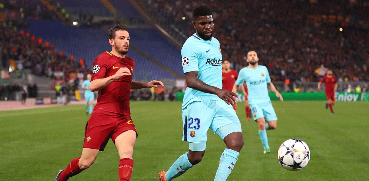 Roma en Champions