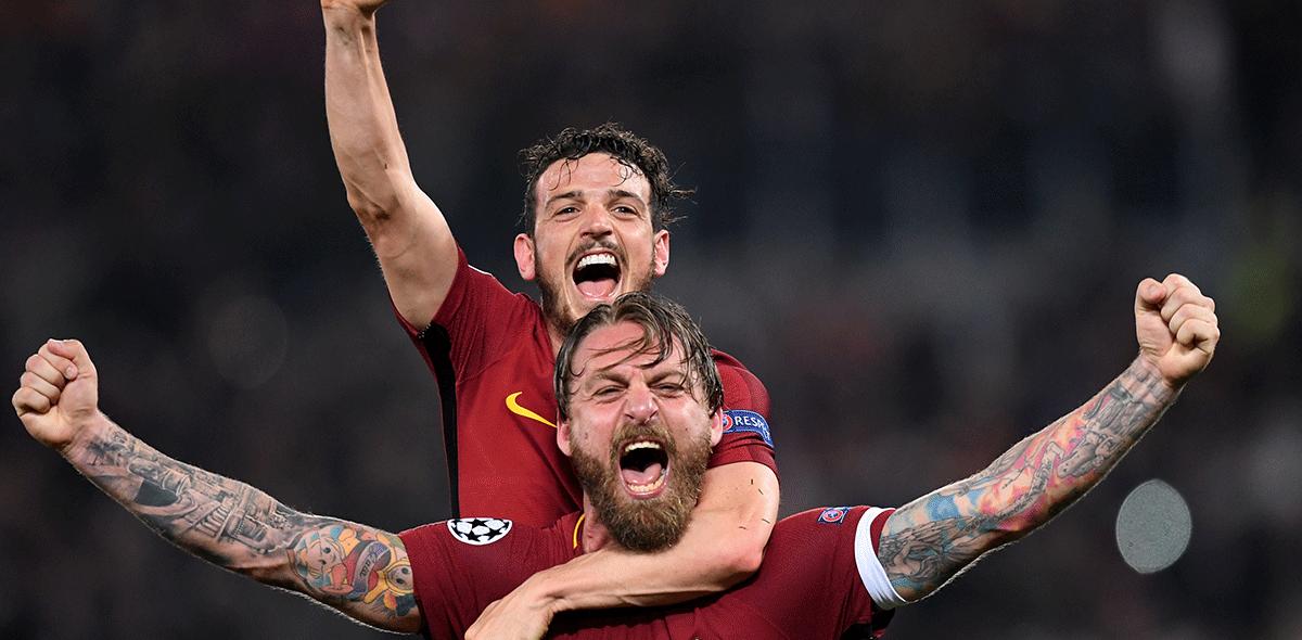 Roma semifinales Champions