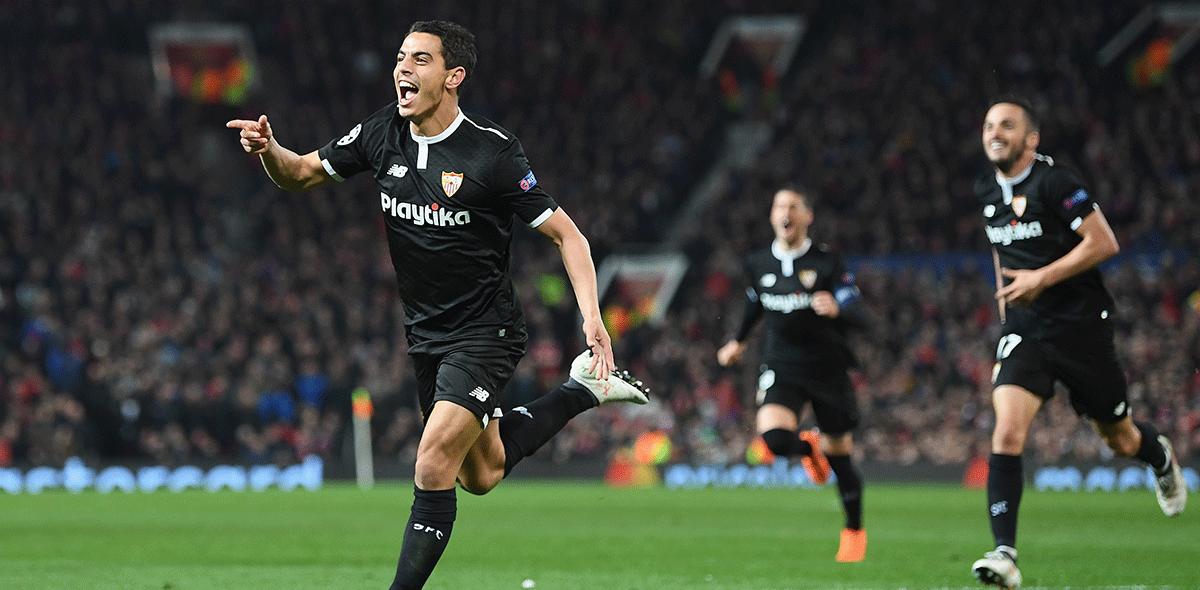 Sevilla ganó en Old Trafford
