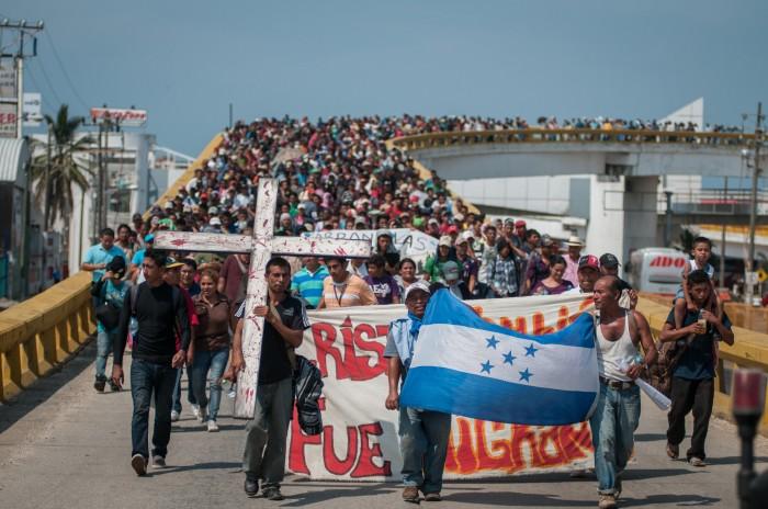 Viacrucis del migrante