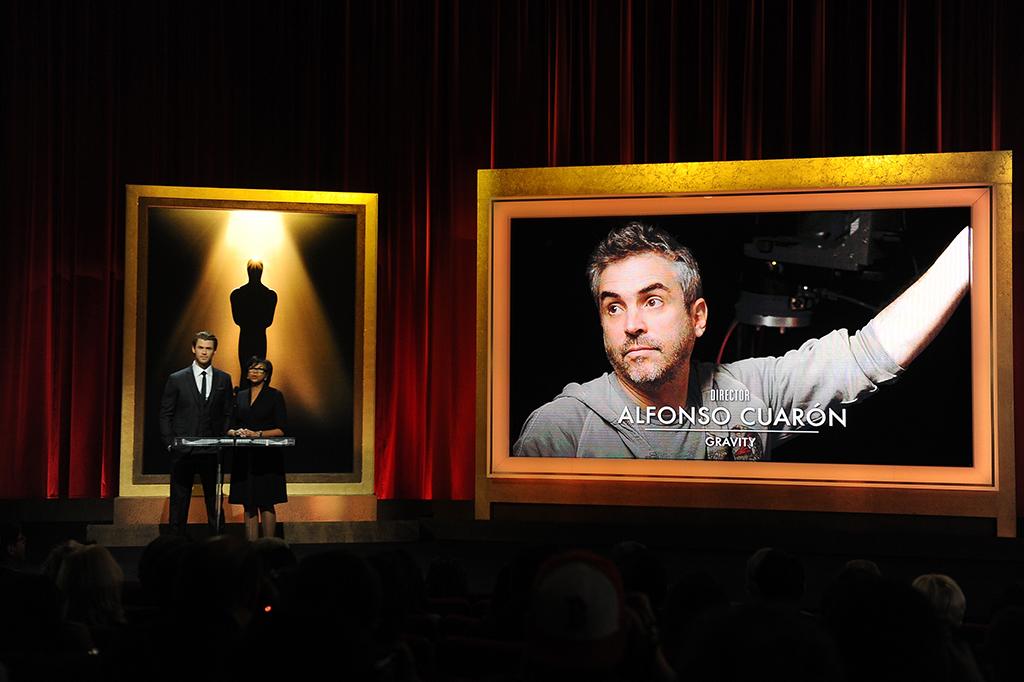 Alfonso Cuarón en los Oscar