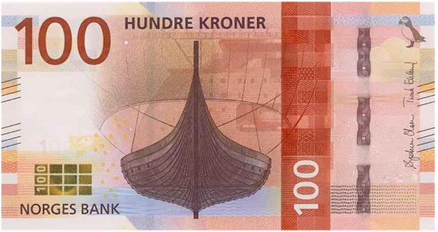 10 coronas noruegas