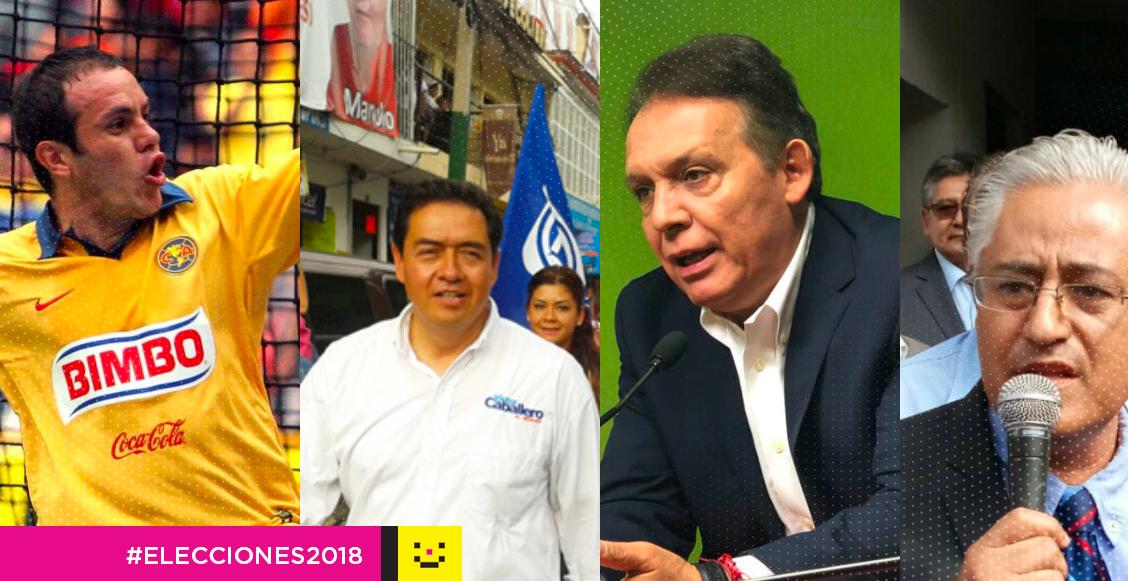 candidatos gubernatura de Morelos