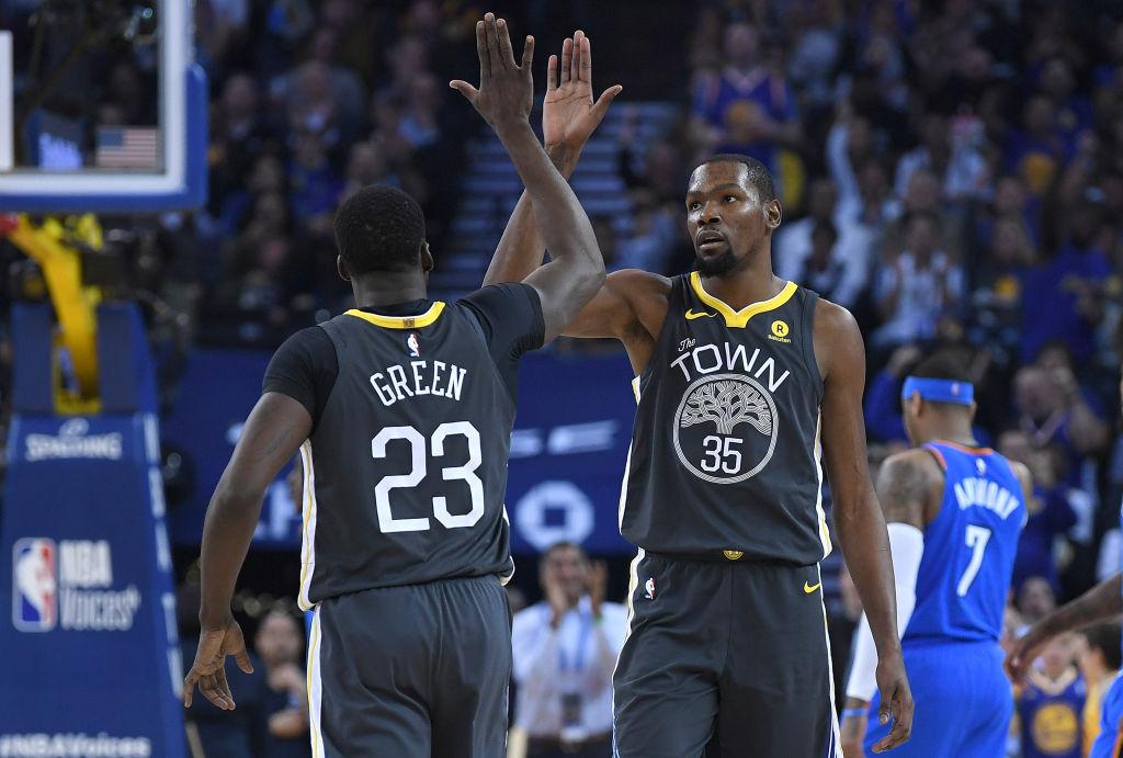 Draymond-Green-Kevin-Durant-NBA-Golden-State-Warriors