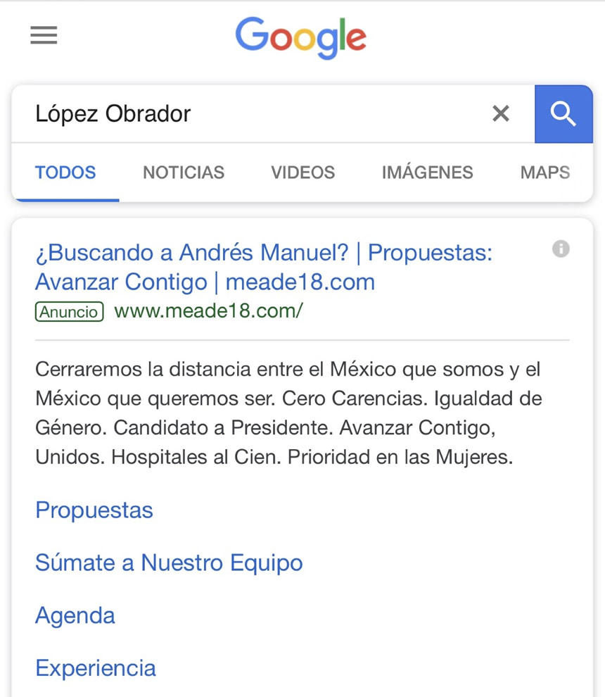 screen buqueda amlo en google