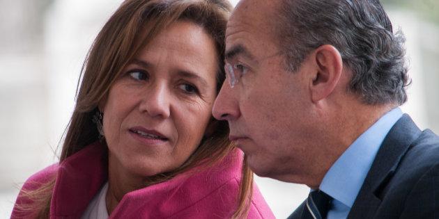 Margarit Zavala y Felipe Calderón