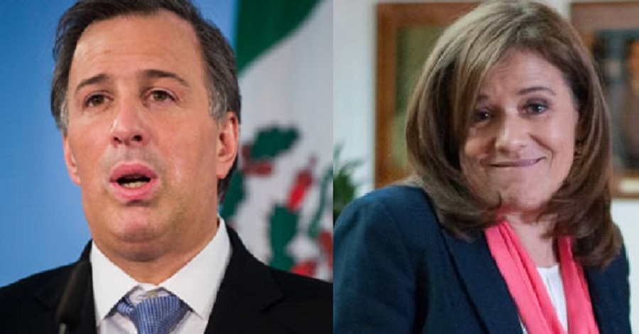Margarita Zavala y José Antonio Meade