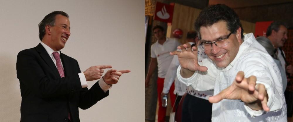José Antonio Meade y Armando Ríos Piter