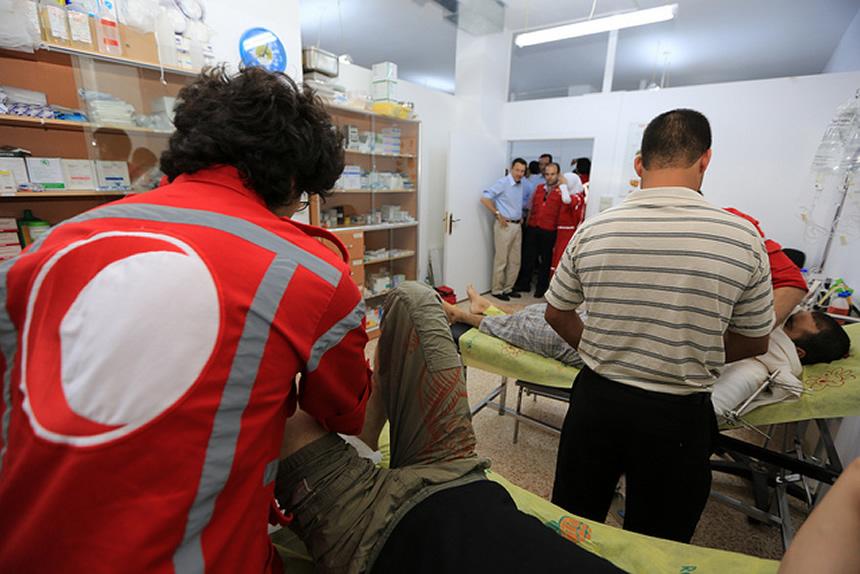 cruz roja turca en Siria