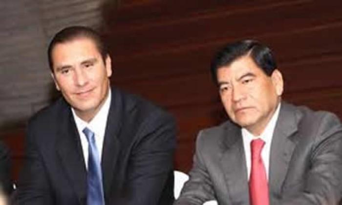 Rafael Moreno Valle y Mario Marín