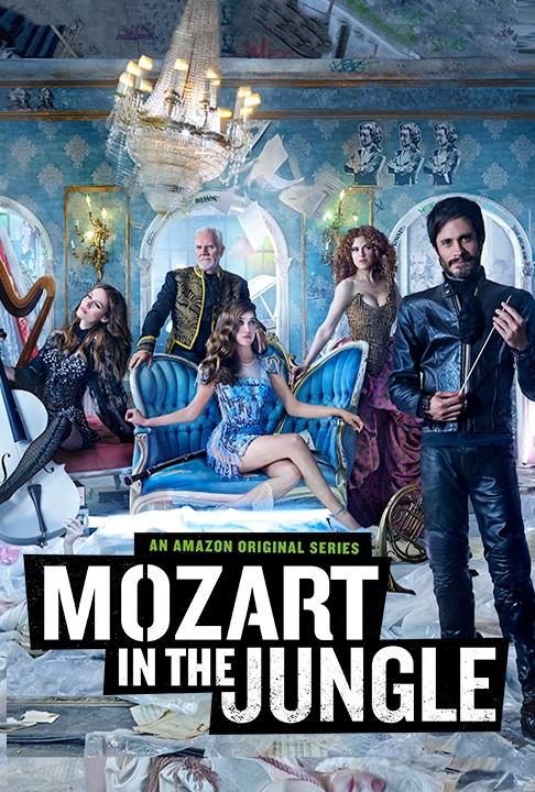 WHAT?! Amazon cancela 'Mozart in the Jungle', la serie protagonizada por Gael García Bernal