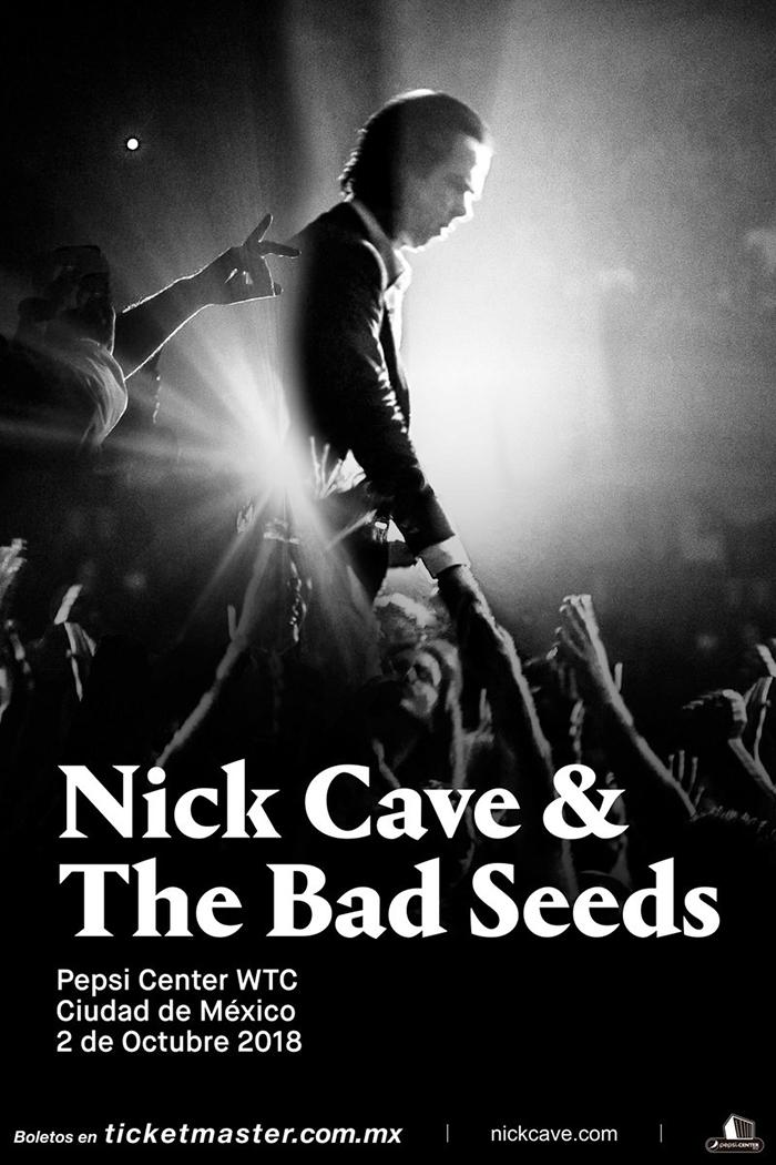 ¡Qué felicidarks! Nick Cave and The Bad Seeds viene a la Ciudad de México