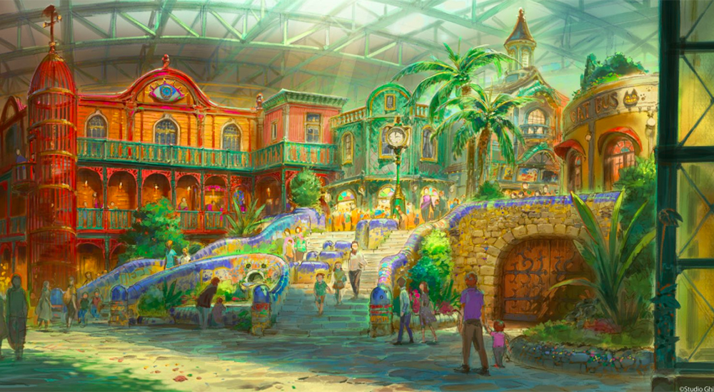 Así lucirá el parque temático de Studio Ghibli en Japón