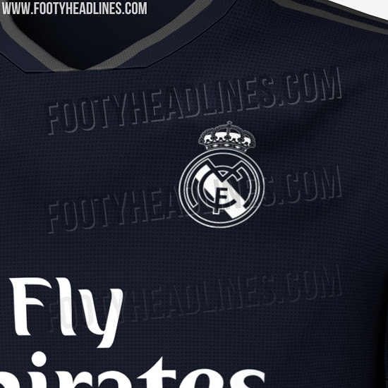 Jersey Real Madrid visitante
