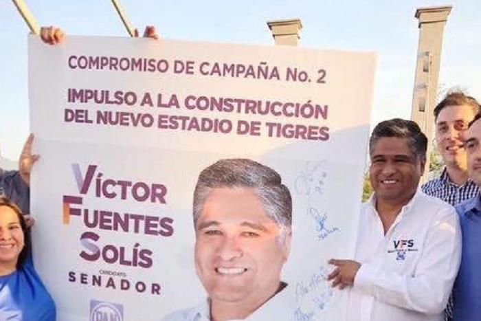 Victor Fuentes Solis, panista candidato al Senado