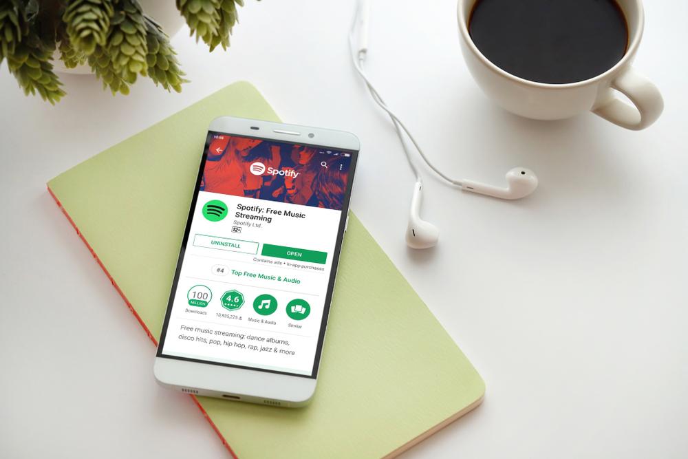 Spotify podría lanzar bocina