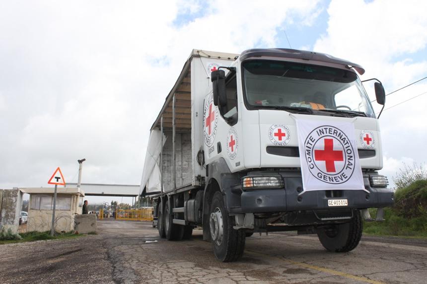 camión de ayuda ONU