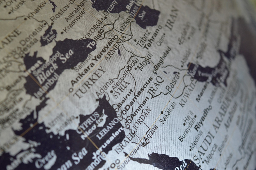 localización Siria