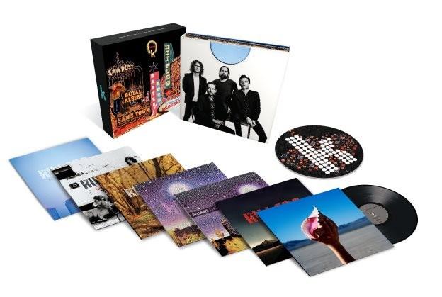 ¡The Killers anuncia un MASIVO box set de vinilos!