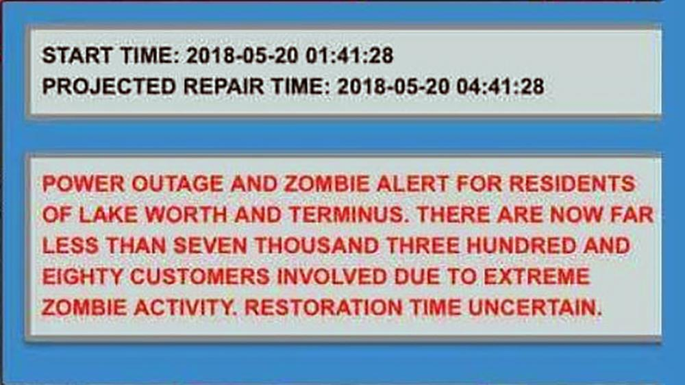Alerta Zombie en Lake Worth