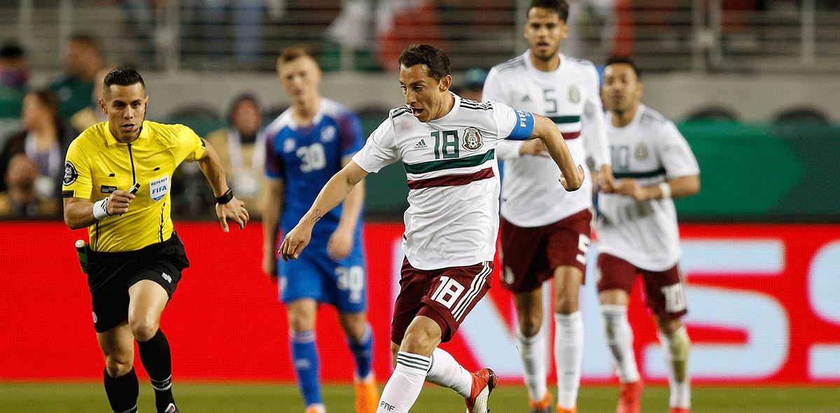 Andrés Guardado irá a Rusia 2018