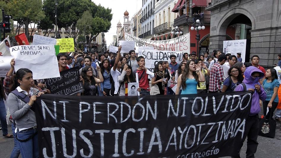 Ayotzinapa protestas informe ONU PGR