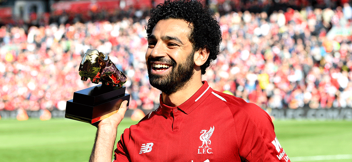 Botines de Mohamed Salah 2018
