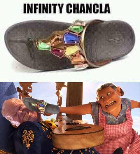 Chancla Avengers