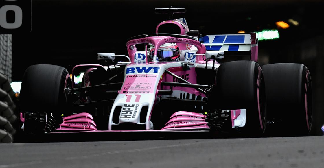 Checo Pérez Gran Premio de Mónaco