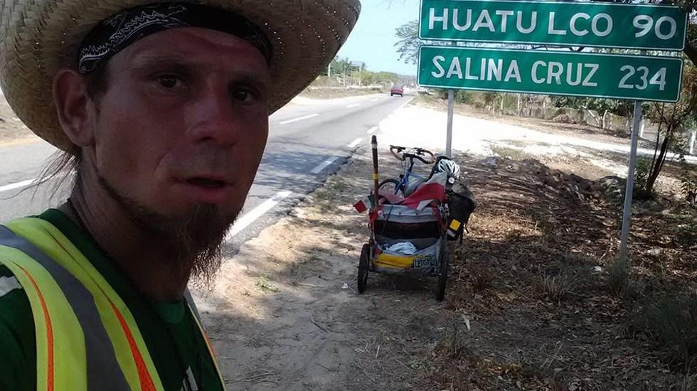 Ciclista polaco desaparecido en Chiapas