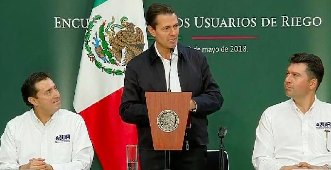 Enrique Peña Nieto dice que los mexicanos se autoflagelan a veces