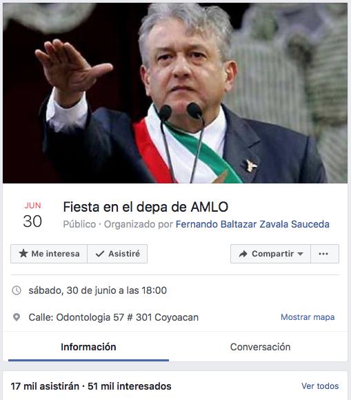 Fiesta de AMLO