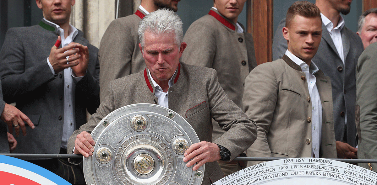 """Wish you were here"", así despidió el Bayern a Jupp Heynckes."