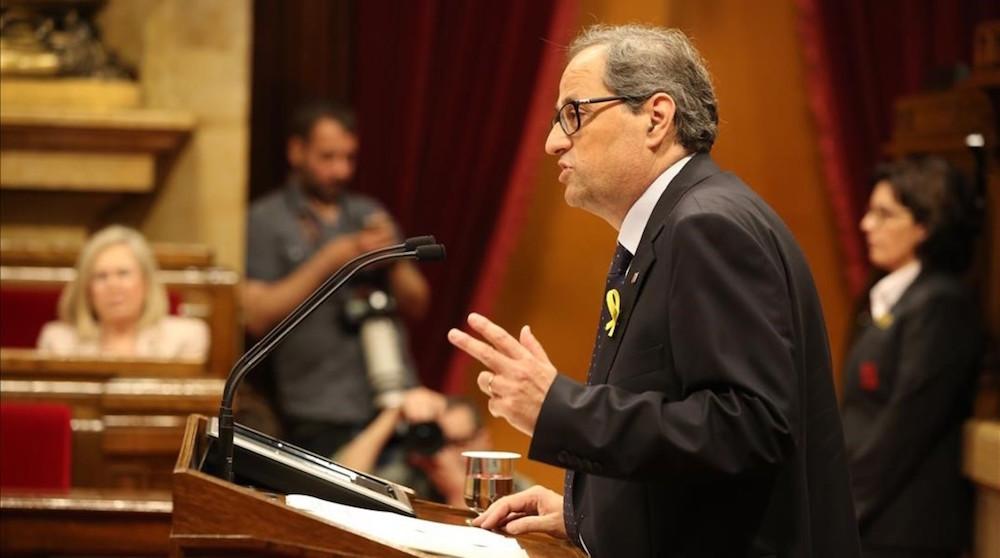 Joaquim Torra presidente de Cataluña