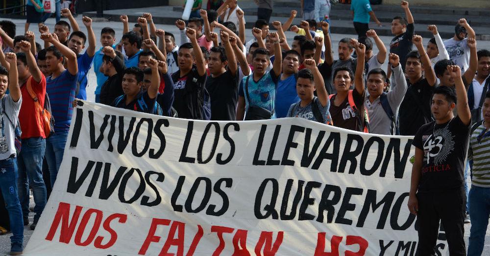 Manifestación Ayotzinapa Chilpancingo