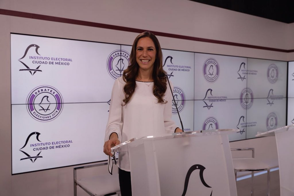 Mariana Boy candidata verde debate chilnago cdmx
