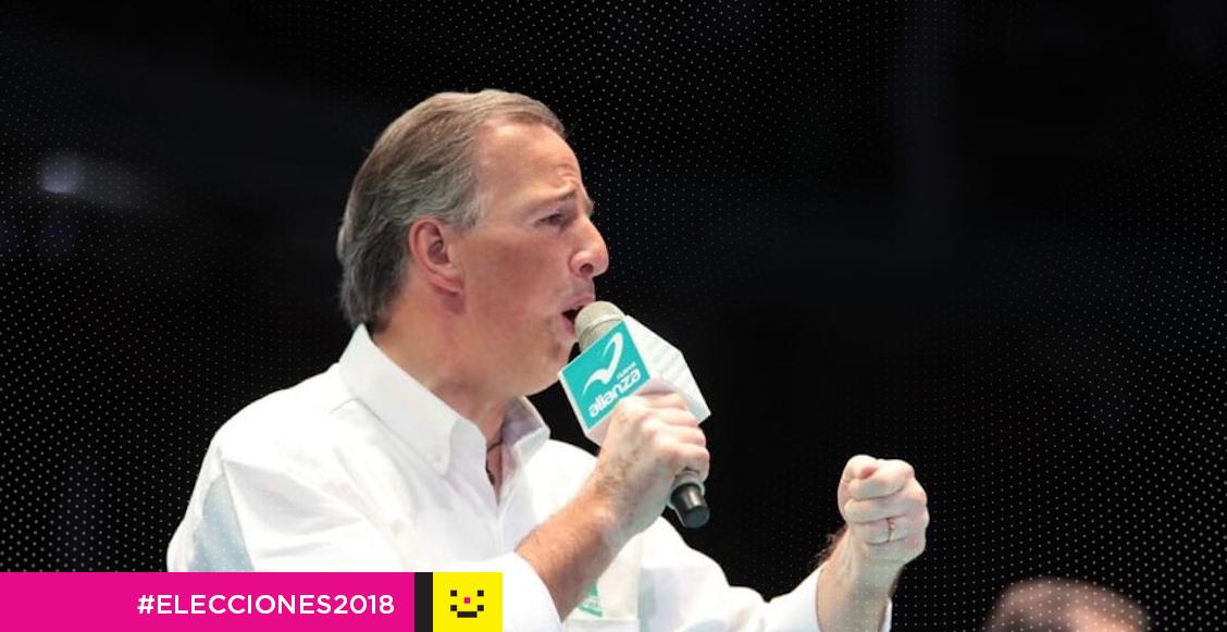 José Antonio Meade pide más votos para el PRI