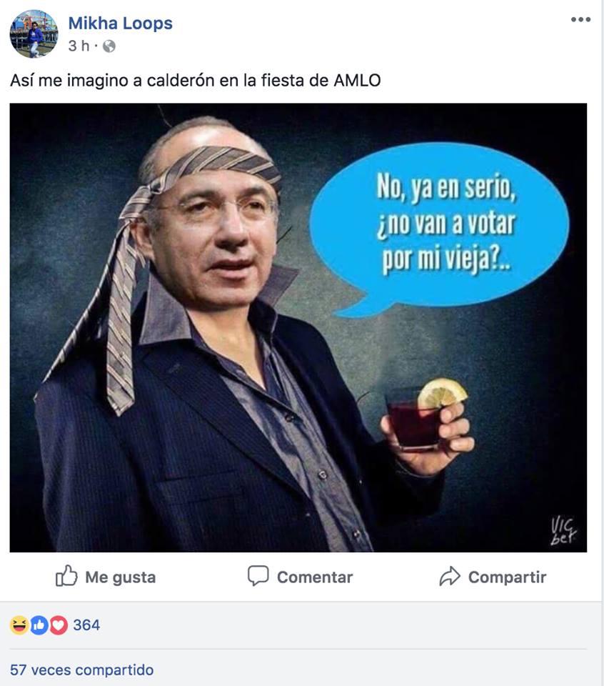 memes fiesta AMLO