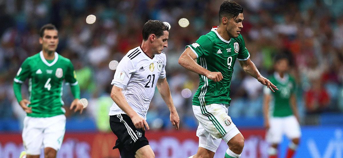 Alineación para el México-Alemania de Rusia 2018
