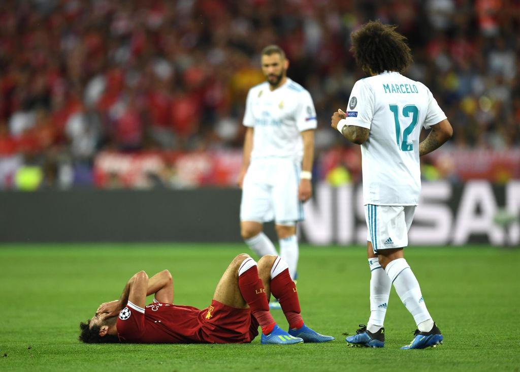 Lesión de Mohamed Salah en la Champions League