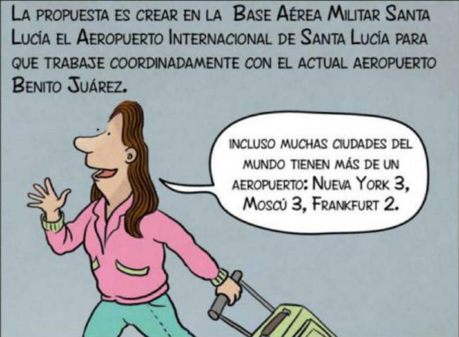Nuevo Aeropuerto Internacional CDMX propuesta AMLO