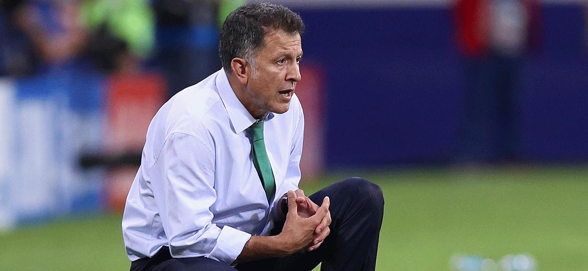 Alineación de Osorio para enfrentar a Alemania