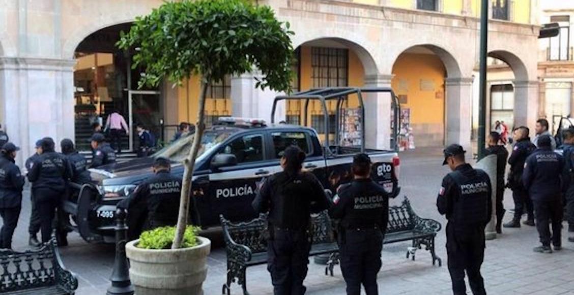 Paro de labores policía de Guanajuato