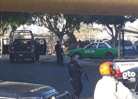 Policias emboscados Irapuato
