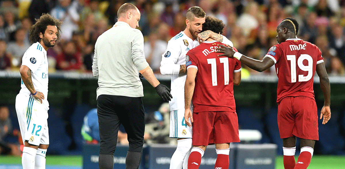 UEFA descartó castigo a Sergio Ramos