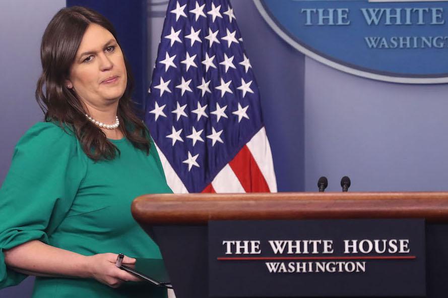 Sarah Sanders Casa Blanca renegociación del TLCAN