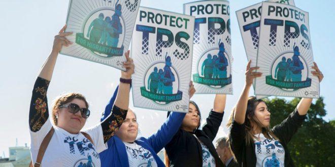 TPS Honduras protesta