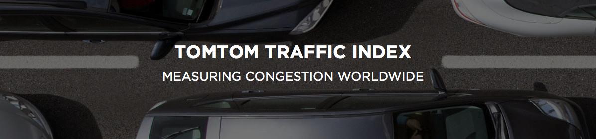 TomTom Traffic Index sitio