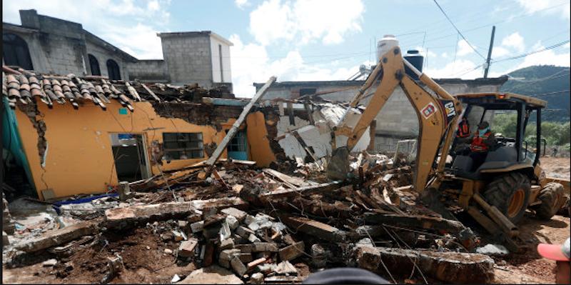 Trabajos de reconstrucción sismos septiembre 2017