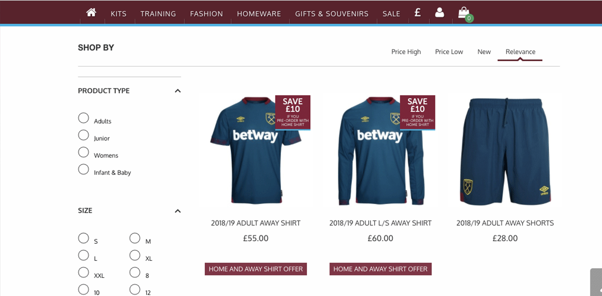 West Ham presentó su nuevo uniforme